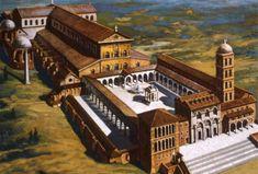 Antigua basilica de San Pedro del Vaticano