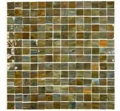 glass tiles for back-splash in the half bathroom or kitchen