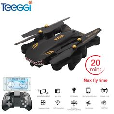 VISUO Foldable Selfie Drone with Wide Angle HD Camera WiFi FPV Upgraded RC Quadcopter Helicopter Mini Dron. Rc Drone, Drone Quadcopter, Camera Drone, Wifi, Phone Lens, Shops, Capture Photo, Pulsar, Rc Helicopter