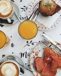 Delicioso desayuno en @magnoliasdulce