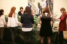 Floral Class Berlin Flower School For the Gold Wedding Academy