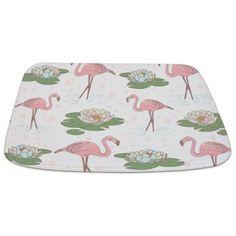 Pink Flamingos Bathmat on CafePress.com