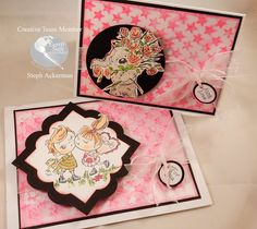 Hi everyone Steph Ackerman here today and can you believe it is February and Valentine's Day is looming, I thought I'd create some Valentine's Day themed cards with fun products from Earth Safe Finishes. Supplies: Earth Safe FinishesGel Medium Earth Safe FinishesColorant – Hot Pink Ann Butler'sArt Screen by Clearsnap– Stars Ann Butler'sCrafter's Ink by… Gel Medium, Butler, Hot Pink, Valentines Day, February, Mixed Media, Ann, Diy Projects, Earth