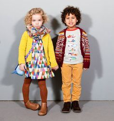 Ok, i know these are kid outfits, but i would happily wear both!