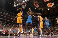 Kendrick Perkins! Thunder at Lakers - Game 4: May 19, 2012   THE OFFICIAL SITE OF THE OKLAHOMA CITY THUNDER