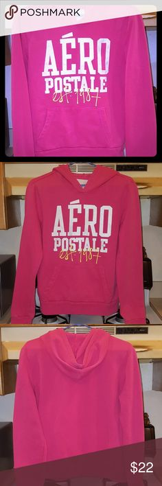 Woman's Comfy Hoodie Pre-Owned/Excellent Excellent (Worn Once) Woman's Long Sleeved Comfy Hoodie Sweatshirt  Brand: Aeropostale  Size: Large  Color: Pink Aeropostale Tops Sweatshirts & Hoodies