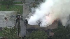 At least 4 dead 1 survivor after small plane crashes into Riverside home