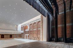 Refuncionalización del Palacio de la Cultural de Blaj #restauración  Más info y fotos en