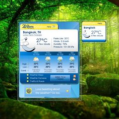 WeatherEye Widget for Windows http://weathergadget.net/get/weathereye/  #weather, #windows, #gadgets, #desktop