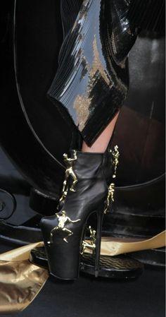 gaga's fame heels