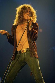 the60sbazaar:  Robert Plant on stage