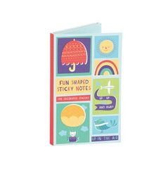 UP IN THE AIR SHAPED STICKY NOTES : Peppercloth : 9780735334144