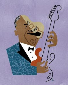 BB King by David Cowles.!     Aline. ♥