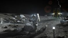 NASA Small Business Partners Advance Lunar Technologies
