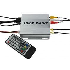 Sintonizador Tdt para Coche Es499D Doble Antena Amplificada Alta Calidad
