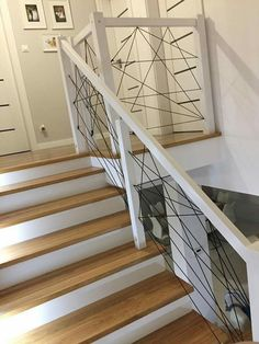 Railing Design, Stair Railing, Staircase Design, House Blueprints, House Stairs, Living Room Art, Stairways, Home Decor Inspiration, My Dream Home