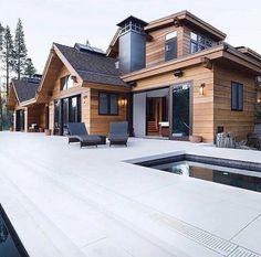 Ideas for house modern exterior architecture arquitetura Dream Home Design, Modern House Design, Stommel Haus, Casas Country, Modern Farmhouse Exterior, Farmhouse Design, Rustic Exterior, Dream House Exterior, House Exteriors
