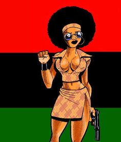 Pump ya fist version A by ~wolfprime Black Girl Art, Black Women Art, African American Artist, African Art, African Beauty, African Women, Black Fist, Black King And Queen, Black Planet