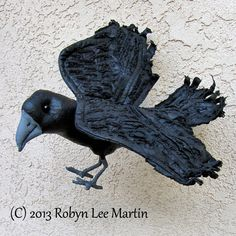 Hey, I found this really awesome Etsy listing at https://www.etsy.com/listing/168418851/primitive-crow-crow-doll-raven-blackbird