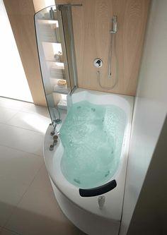 enjoyable bathtubs for small bathrooms. Eckbadewanne  eine der tollsten Optionen f r Ihr Badezimmer Depiction of Deep Tubs for Small Bathrooms That Provide You