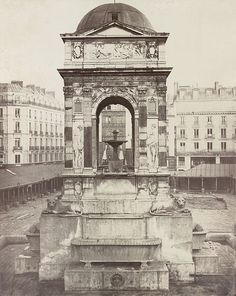 File:Charles Marville - Fountain of the Innocents, Paris, France.jpg