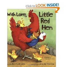 With Love, Little Red Hen: Friendly Letters