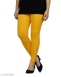 Checkout this latest Leggings Product Name: *Sakhi Shine Ankle Length Cotton Legging* Fabric: Cotton Lycra Pattern: Solid Multipack: 1 Sizes:  28, 30, 32, 34, 36, 38, 40, 42, 44 (Waist Size: 44 in, Length Size: 38 in)  Country of Origin: India Easy Returns Available In Case Of Any Issue   Catalog Rating: ★3.9 (289)  Catalog Name: Fashionable Feminine Women Leggings CatalogID_2033476 C79-SC1035 Code: 382-10977246-936