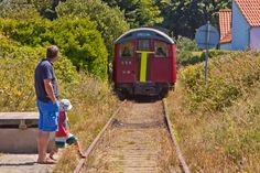 The only train in the Channel Islands is in Alderney and happens to be an old London tube carriage. British Rail, British Isles, Channel Islands Uk, London Underground Train, Bailiwick Of Guernsey, Guernsey Island, Vacation Wishes, Feb 2017, London Transport