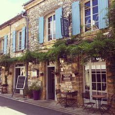 Lovely restaurant in Monpazier #france