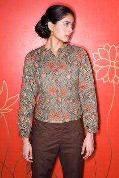 blouse and pants Anokhi India #desichic #indianfashion