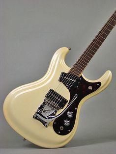 Mosrite The Ventures model 1965 Guitar Body, Music Guitar, Cool Guitar, Playing Guitar, Acoustic Guitar, Vintage Electric Guitars, Cool Electric Guitars, Vintage Guitars, Fender Bass Guitar