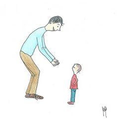 Provate a fare questa domanda ai vostri figli: Come deve essere un bravo genitore?