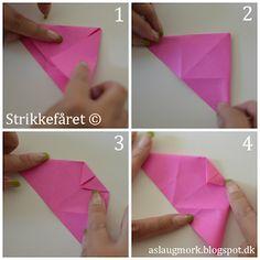 Kuponhæfte til veninden & Lou Noire Paper Flowers, Origami, Paper Crafts, Prints, Blog, Kaffe, Decor, Hacks, Handmade