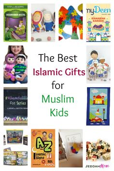 #muslimkids #islamicgifts The best islamic gifts for muslim kids. Perfect to be given at Eid or in general. A complete list consisting of books, toys, faceless dolls , electronic toys and more.