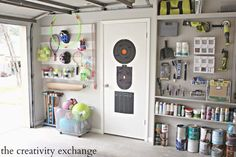 Budget ideas and garage organization hacks. You just have to get smart about you. Budget ideas and garage organization hacks. You just have to get smart about your garage storage so Pegboard Garage, Pegboard Organization, Organizing Hacks, Organization Ideas, Painted Pegboard, Kitchen Pegboard, Garage Shelving, Workshop Organization, Workshop Ideas