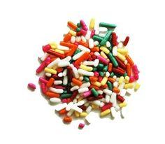 Rainbow Sprinkle Decorettes | SupplyVillage.com