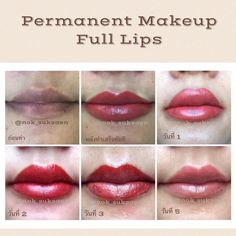 Semi permanent makeup💄💋❤ days after completion of the process. Lip Color Tattoo, Competition Makeup, Laser Skin Care, Permanent Eyeliner, Facial Tattoos, Lip Shapes, Cosmetic Tattoo, Full Lips, Lip Fillers