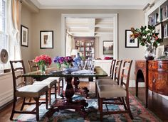 Image result for michael s smith dining rooms