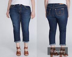 3473011d550 22 Size Melissa McCarthy Crop Jeans Capris Seven 7 Lane Bryant Plus Clothes  NEW  LaneBryant