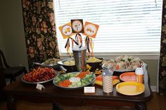 Construction Birthday Party Centerpiece