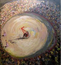 La hora de la verdad, 2009 óleo sobre tela 200 x 180 cm.