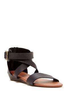 Carrini Strappy Wedge Sandal