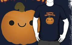 Cute Halloween Shirt design, BUY IT ON REDBUBBLE NOW FOR £15.99! - http://www.redbubble.com/people/tjhiphop/works/9468066-cute-halloween