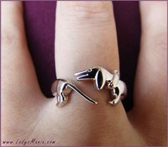 Doxie Ring by kristine  I'd love to get this for a toe ring!!!