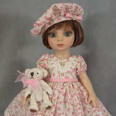 ~ PRECIOUS IN PINK ~ Valentine Dress for Patsy Tonner Ann Estelle Betsy McCall