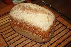 Chleb orkiszowy z automatu , to najprostszy przepis jaki można sobie wyobrazić , a chleb wychodzi pyszny i chrupiący . Za każdym razem udany . Graham, Bread, Food, Recipies, Brot, Essen, Baking, Meals, Breads