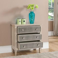 Carlson 3-Drawer Accent Chest