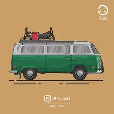 KombiT1: Volkswagen T2 @ivy71vwbus