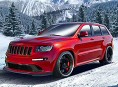0-60mph in 3.1 seconds. Yes it is a Jeep Grand Cherokee!