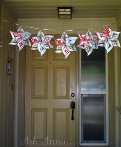 How to Make a Paper Pinwheel Star - Ask Anna